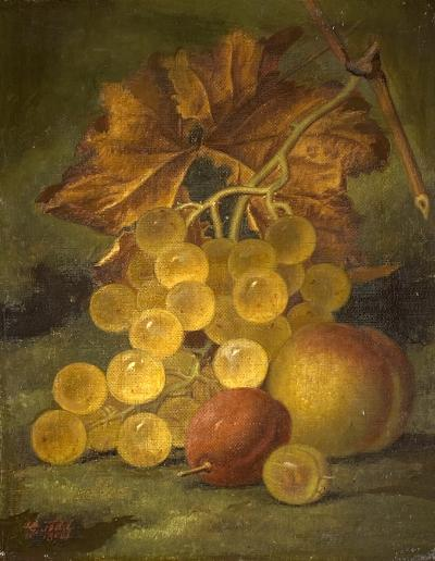 Henry George Todd Still Life with Fruit
