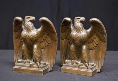 Henry Hering AMERICAN EAGLE BOOKENDS