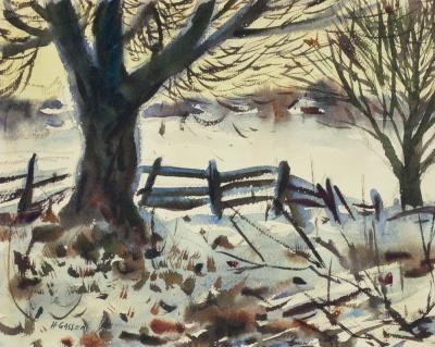 Henry Martin Gasser Birch Tree