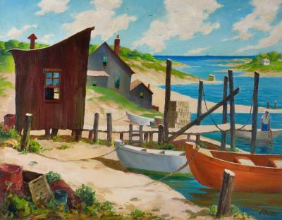 Henry Martin Gasser Blue Harbor