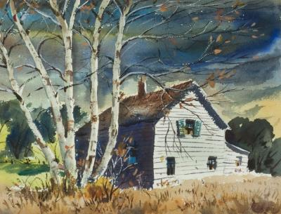 Henry Martin Gasser By the Farm