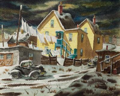 Henry Martin Gasser December Wash