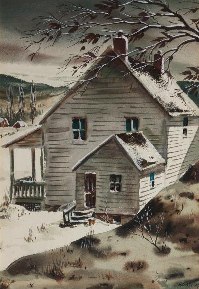 Henry Martin Gasser Early Winter Morning