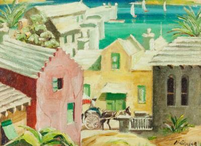 Henry Martin Gasser Harbor in Bermuda