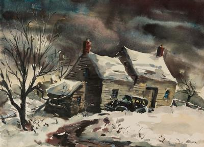 Henry Martin Gasser Home for the Holidays