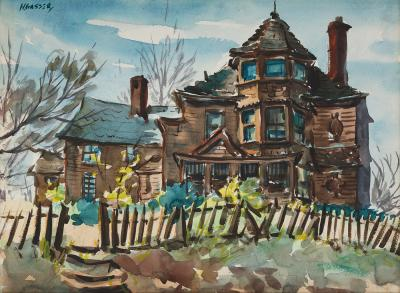 Henry Martin Gasser House on the Hill