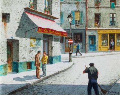 Henry Martin Gasser Paris Morning