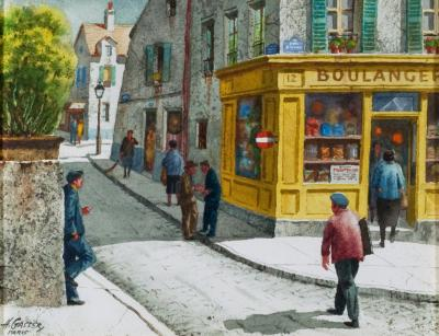 Henry Martin Gasser Saturday Morning Montmartre