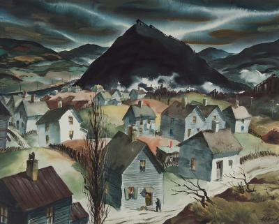 Henry Martin Gasser Study for Return to Slag Valley