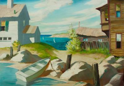 Henry Martin Gasser Sunlit Bay