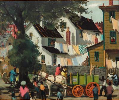 Henry Martin Gasser The Green Wagon