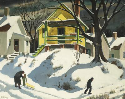 Henry Martin Gasser The Yellow House