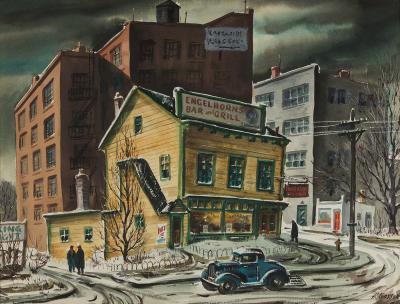 Henry Martin Gasser Warren Street