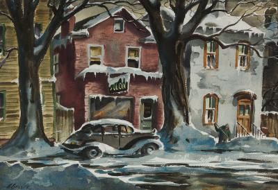 Henry Martin Gasser Winter Day