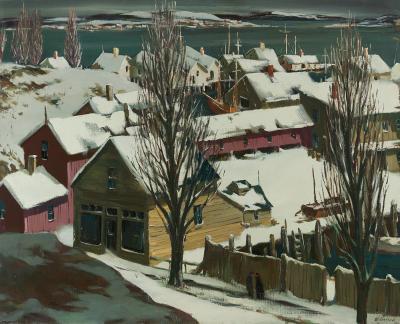 Henry Martin Gasser Winter Docks