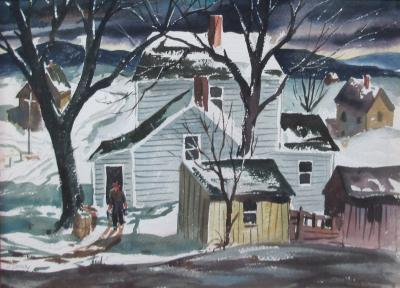 Henry Martin Gasser Winter Morning
