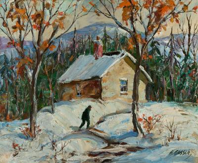 Henry Martin Gasser Winter Path