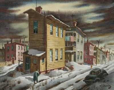 Henry Martin Gasser Winter Street