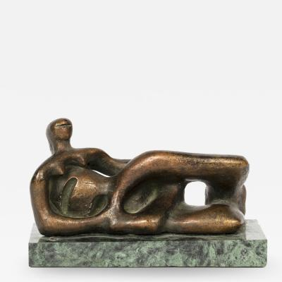 Henry Moore Reclining Female Figure Reproduction By Henry Moore Circa 1971