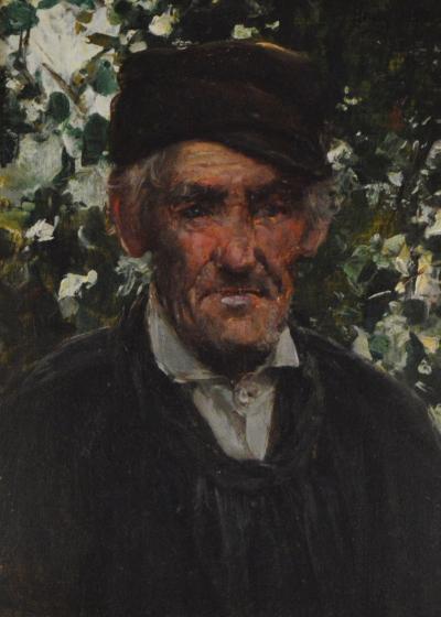 Henry Mosler The Gardner HM