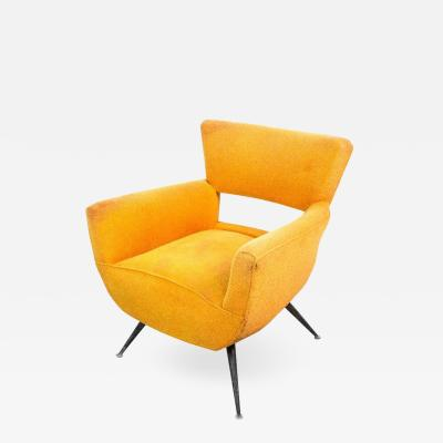 Henry P Glass 1950s Mid Century Modern Lounge Armchair by Henry Glass