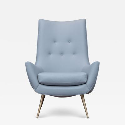 Henry P Glass Mid Century Modern Lounge Chair by Henry P Glass