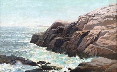 Henry Pember Smith Near Kennebunkport