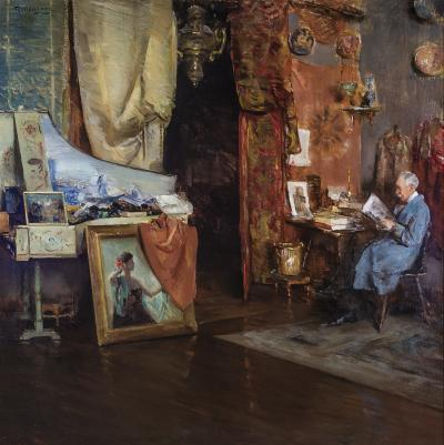 Henry R Rittenberg The Studio of Harry Watrous