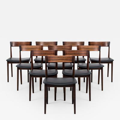 Henry Rosengren Hansen Henry Rosengren Hansen Dining Chairs model 39