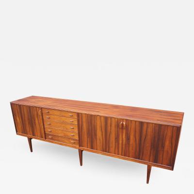 Henry Rosengren Hansen Rare Large Rosewood Sideboard by Henry Rosengren Hansen