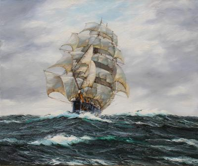 Henry Scott Thirty days out the Clipper Dawpool