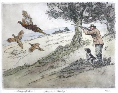 Henry Wilkinson Pheasant Shooting