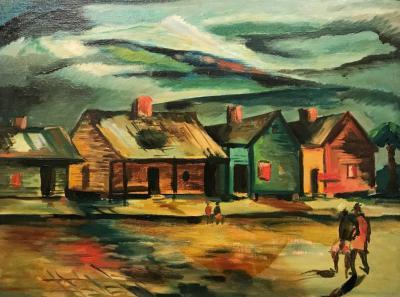 Henry Wilmer Bannarn Rowhouses Charleston South Carolina