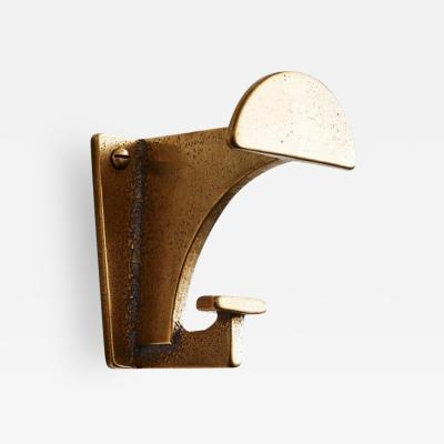 Henry Wilson Bronze Contemporary Hook by Henry Wilson