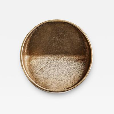 Henry Wilson Round Bronze Vide Poche by Henry Wilson