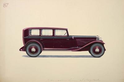 Herbert HERSCHU Automotive design for Alexis Kellner AG Berlin
