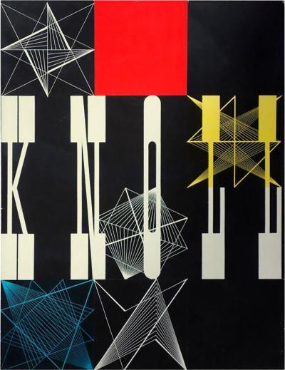 Herbert Matter Herbert Matter Collage Mock Up for the Knoll 1948 Catalog