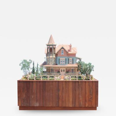 Heritage Museum l a on S Calif Architecture Victorian Doll House Case