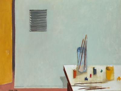 Herman Maril Studio Corner