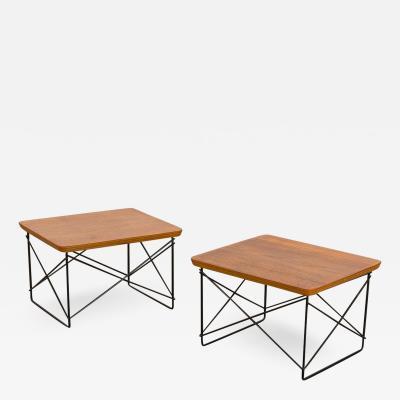 Herman Miller Early Eames LTR Side Tables