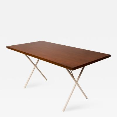 Herman Miller Early Nelson X Leg Table Desk by George Nelson for Herman Miller
