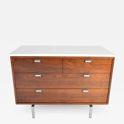 Herman Miller George Nelson for Herman Miller 4 Drawer Cabinet Credenza in Walnut