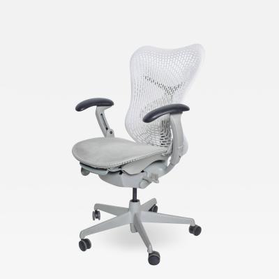 Herman Miller Herman Miller Modern Mirra 2 Ergonomic Office Chair White Fog