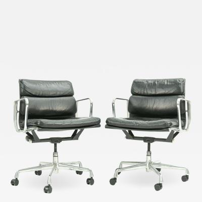 Herman Miller Pair of Herman Miller Soft Pad Office Chairs