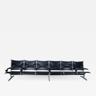 Herman Miller Tandem Sling Airport Bench by Herman Miller