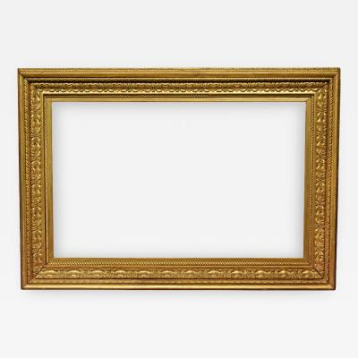 Hermann Dudley Murphy American 1915 Salvatore Rosa Carved Gold Leaf Picture Frame 30x48