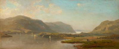 Hermann Fuechsel Hudson River Above West Point
