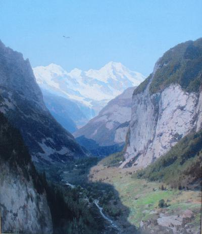 Hermann Herzog Lauterbrunnen Valley