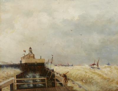Hermann Herzog Port at Ostend Belgium