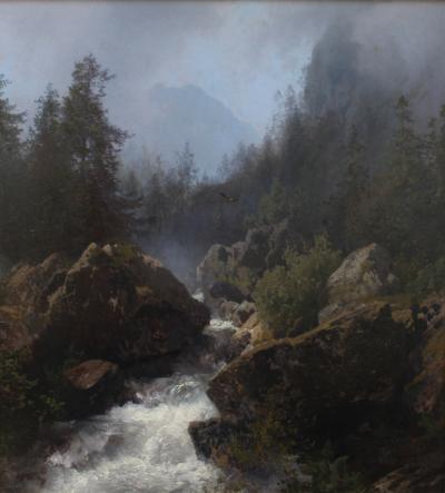 Hermann Herzog The Cascade of the Reichenbach